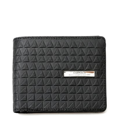 GARNI / Triangle Chip Fold Wallet:BLACK