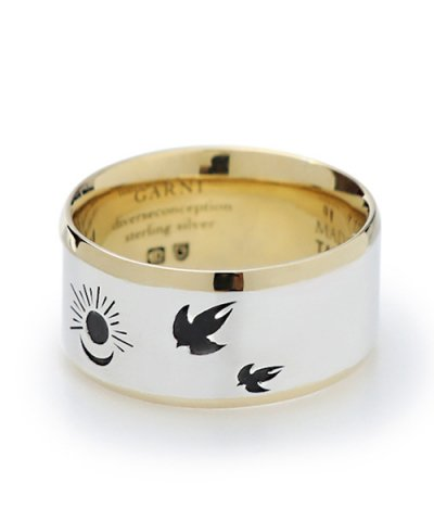 GARNI / Sun and Moon Ring