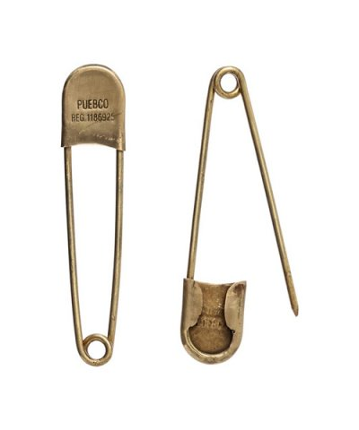 PUEBCO / BRASS SAFETY PIN