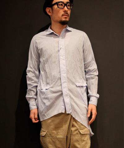 AG / PINTST ASYMMETRY SHIRT