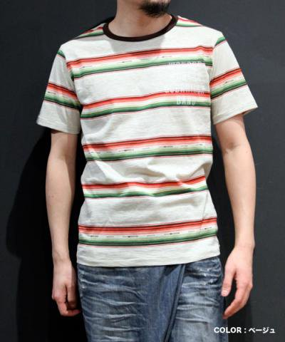 EOTOTO / NATIVE BORDER TEE