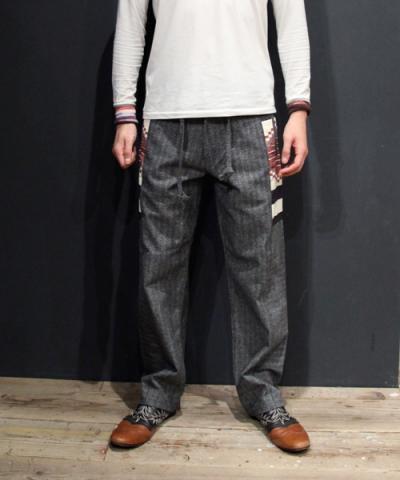 EOTOTO / SIDE PATTERN LONG PANTS
