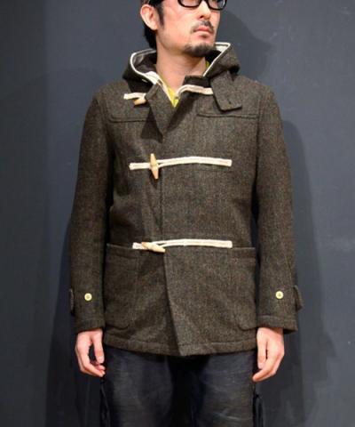 waste(twice) /  Harris Tweed Duffel Coat