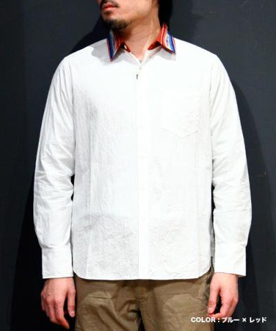 EOTOTO / NATIVE BORDER COLLAR SHIRTS