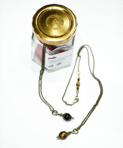 YELLA / STONE TOP CHAIN NACKLACE
