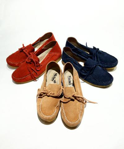 Niche / suede camp moc shoes