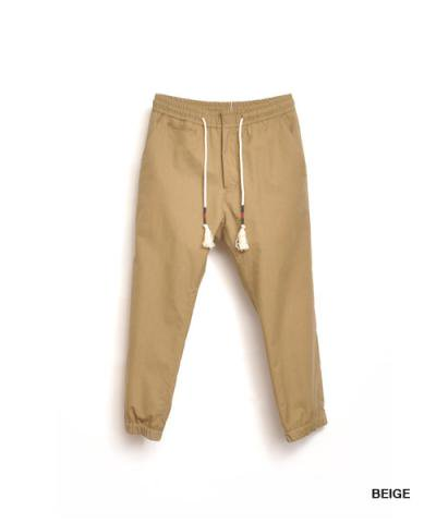 EOTOTO / NATIVE CORD CROPPED EASY PANTS