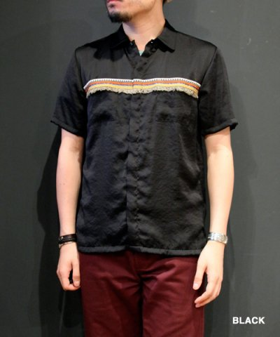 EOTOTO / NATIVE FRINGE SHIRT