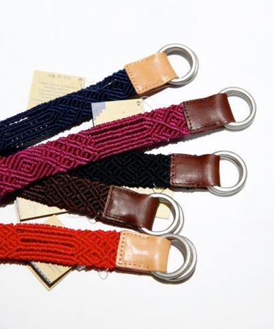 OJO DE MEX / Solid Color Belt