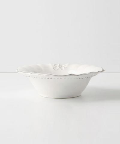Anthropologie / Fleur De Lys Bowl