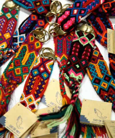 OJO DE MEX / Rabo Key Ring