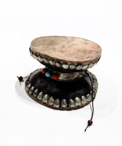 IMPORT / TIBETAN DAMARU DRUM