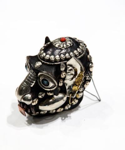 IMPORT / Tibetan Monkey Skull