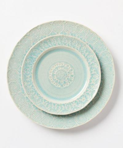 ANTHROPOLOGIE / Old Havana Salad Plate