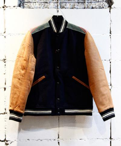 Sasquatchfabrix. / NATIVE STADIUM JACKET ワッペンなし