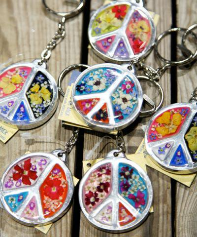 OJO DE MEX / Peace Key Ring