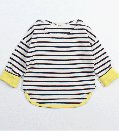 IMPORT KIDS WEAR / ボーダーカットソー