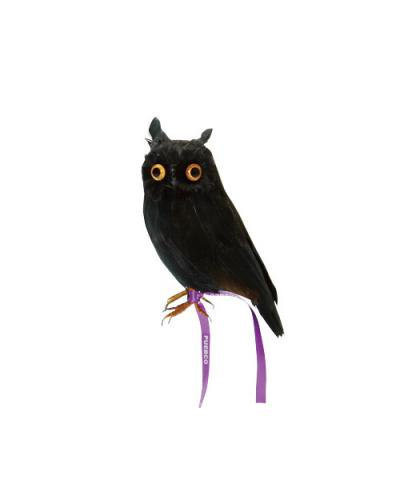 PUEBCO / ARTIFICIAL BIRDS Owl - BLACK