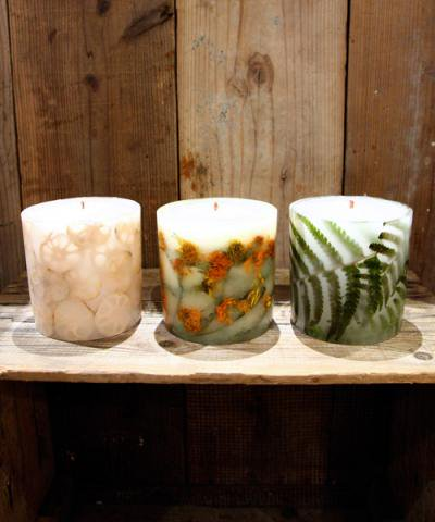 Daze'n Haze CANDLE LIGHTS / GREEN CANDLE-L