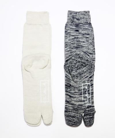 THE DAWN B / SILK+ORGANIC COTTON SOX