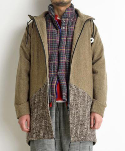 VOO / 2TONE LONG PARKA