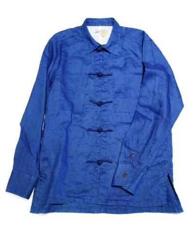 THE DAWN B / CHINA SHIRTS hemp/shike-silk