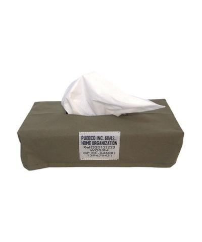 PUEBCO / LAMINATED FABRIC TISSUE BOX COVER