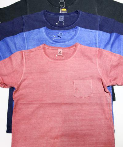 Niche / Pocket T-Shirts-pigment