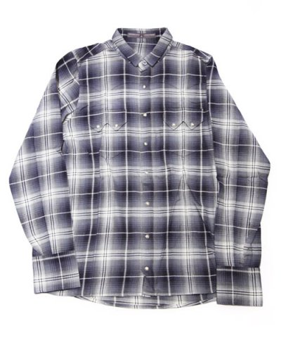 AG / Short collar checked shirt