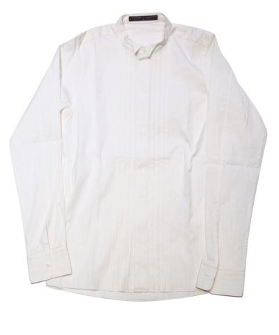 AG / wing collar shirt