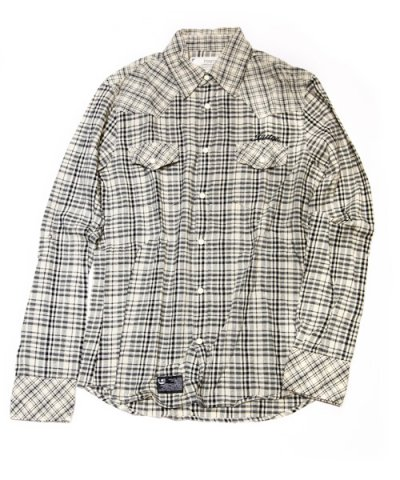 Fundamental Agreement LUXURY / DULL CHECK SHIRTS