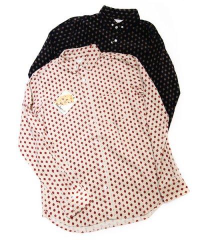 Niche / cinta round b/d corduroy shirts