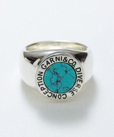 GARNI /  Round Stone Ring - L