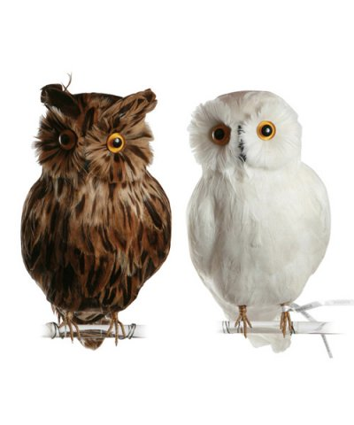 PUEBCO / ARTIFICIAL BIRDS Owl - L