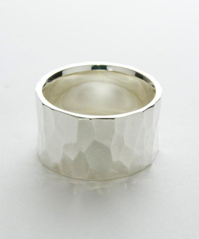 GARNI / Crack Square Ring-L