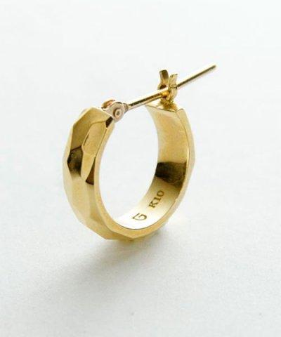 GARNI / K10 Crack Round Pierce
