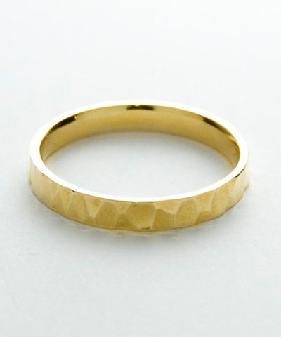 GARNI / K10 Crack Square Ring-S