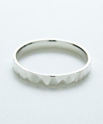 GARNI / Crack Square Ring - S