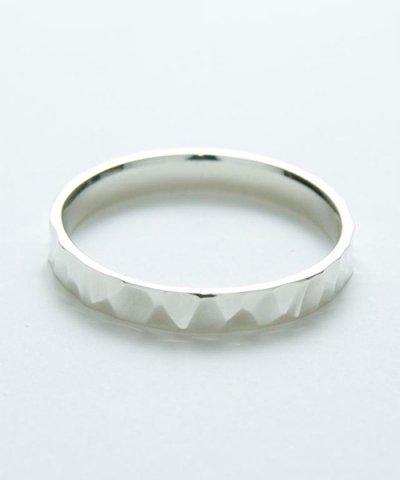 GARNI / Crack Square Ring - S