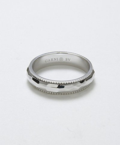 GARNI / Grain Crack Round Ring