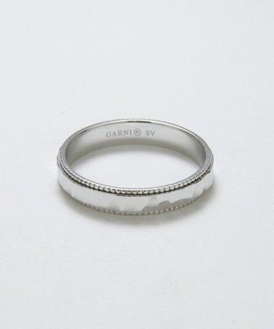 GARNI / Grain Crack Square Ring