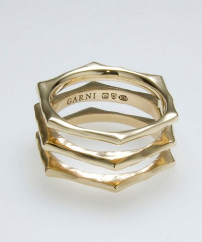 GARNI / K10 Narrow Ring - No.7