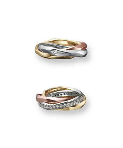 GARNI Love Rings / Triple Band Ring