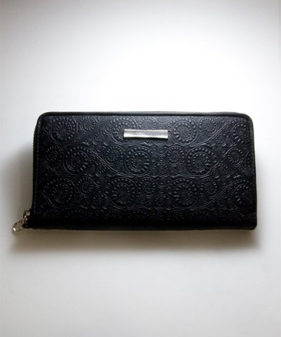 GARNI / '10 Vine Pattern Zip Long Wallet