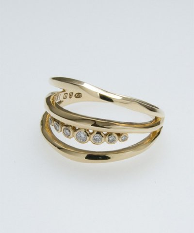 GARNI / K10 Narrow Ring - No.4