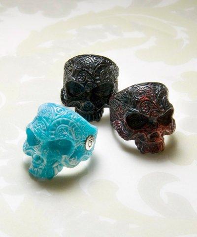 GARNI / 051 Vine Skull Acrylic