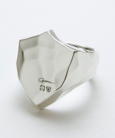 GARNI / Shield Emblem Ring - L
