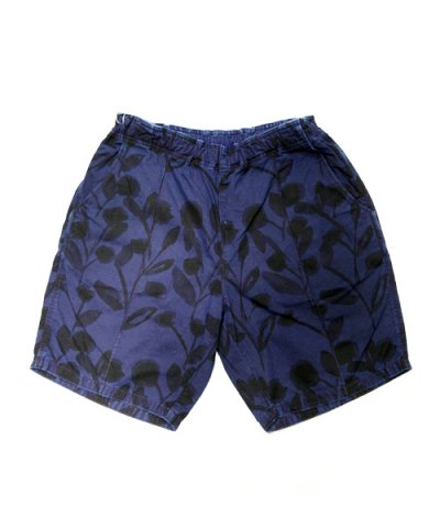 VOO / DYED FLOWER SHORTS ・撥