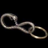 【龍頭】蛇フック<br>真鍮