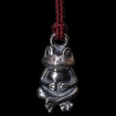 【龍頭】蛙根付